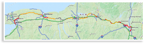 parks trails new york erie canalway trail map