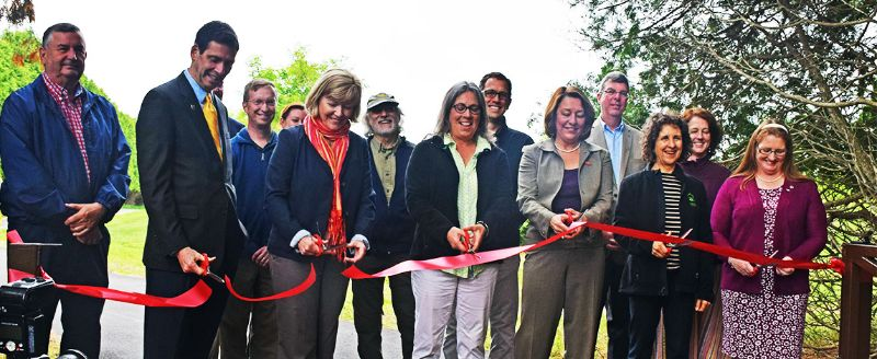 Saratoga Spa Park Ribbon Cutting