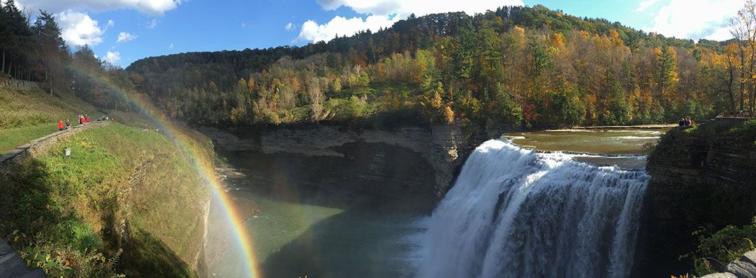 Letchworth State Parks Falls